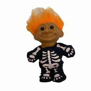 Russ Troll Doll Skeleton Halloween Collectible